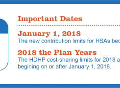 New 2018 guidelines for Health Savings Accounts